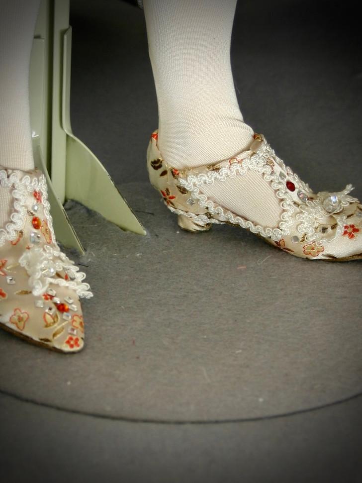 Elizabeth I shoes