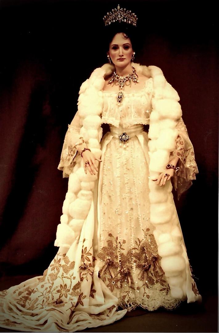Czarina Alexandra full length portrait