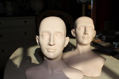Heads from the mould