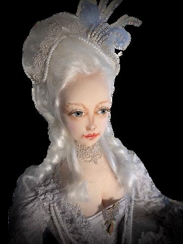 Marie Antoinette head & shoulders