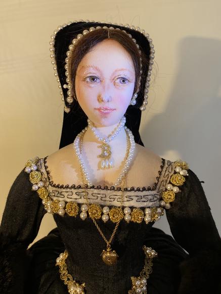 Anne Boleyn half front