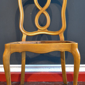 Drab to Fab: Antiquing Chairs