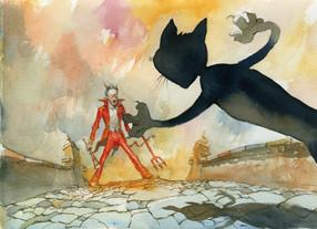 O gato e o Diabo (James Joyce & Lelis)