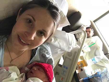 The Day I Became a Mama: My Birth Story!