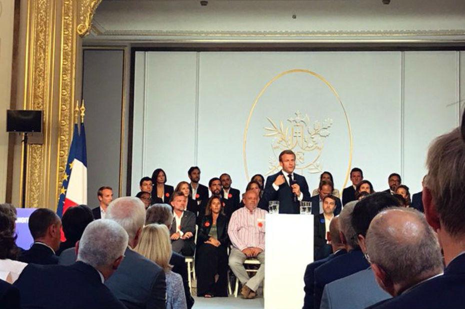 NEXT40 Emmanuel Macron