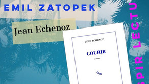 "Livre inspirant : ""courir"" Jean Echenoz"
