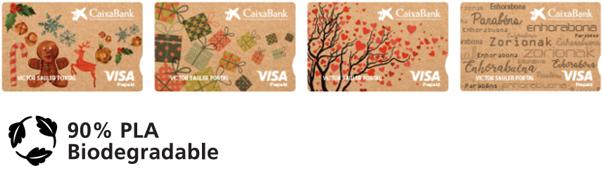 carte bancaire biodegaradable