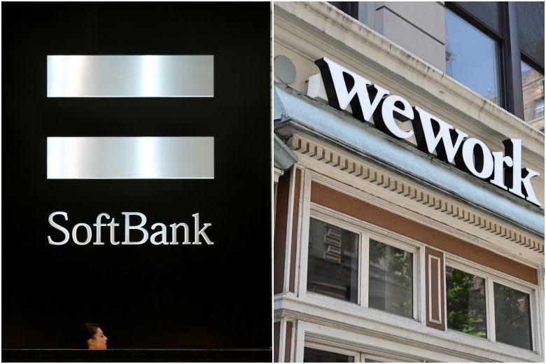 wework rachat par softbank