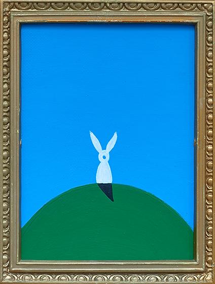 """Master time"" / Acrylic Paint / 30 x 25 cm"