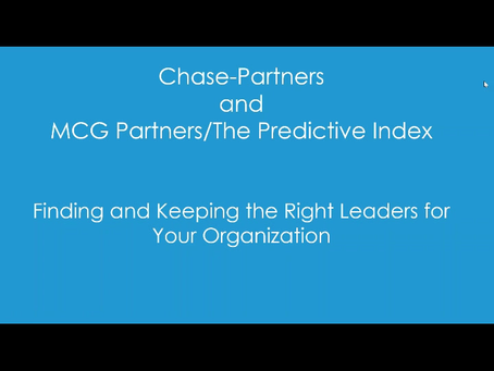 How Can You Find AND Keep the Right Leaders in Life Sciences?
