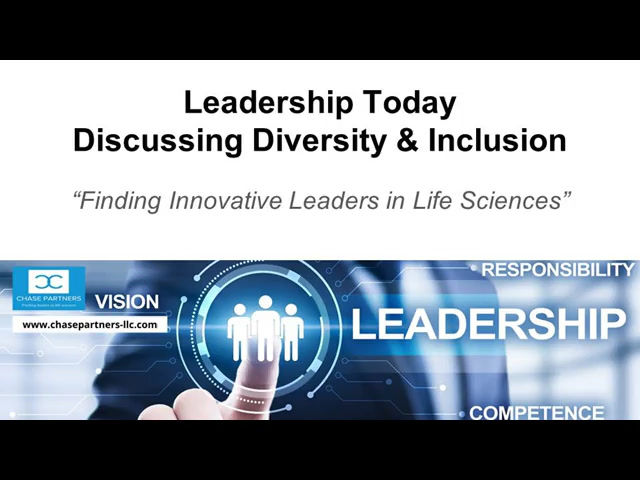 Diversity & Inclusion - Leadership Today Video Series #2