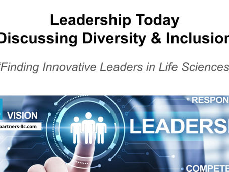 Diversity and Inclusion - Leadership Today Video Series #1