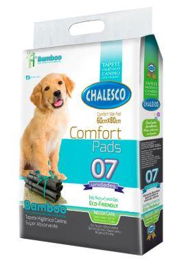 Tapete Higiênico para Cães Confort Bamboo Chalesco 60x80cm - 07unds
