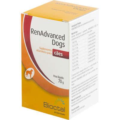 Suplemento Vitamínico Candioli RenAdvanced Dogs Tratamento Renal