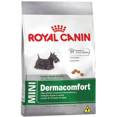 Ração Royal Canin Dermacomfort para Cães Adultos ou Idosos Rçs Pequenas - 2,5kg