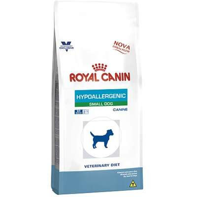 Ração Royal Canin Canine Veterinary Diet Hypoallergenic Small Dog - 7,5kg