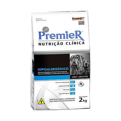 Ração Premier Nutrição Clínica Hipoalergênico para Cães Adultos - 2kg