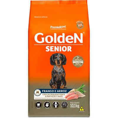 Ração Premier Golden Formula Cães Sênior Mini Bits Frango e Arroz - 3kg