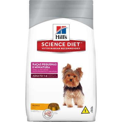 Ração Hills Science Diet Canino Adulto Raças Pequenas e Miniaturas 3kg