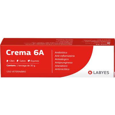 Antibiótico Labyes Crema 6A - 30g
