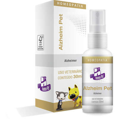 Sistema de Terapia Real H Homeo Pet Alzheim Pet