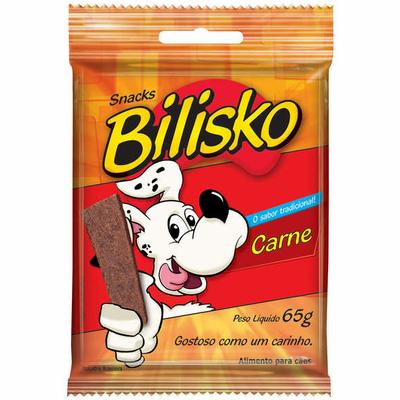 Snacks Bilisko Carne para Cães - 65g