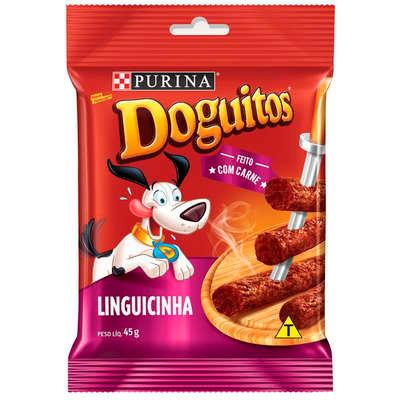 Petisco Nestlé Purina Doguitos Linguicinha para Cães - 45g