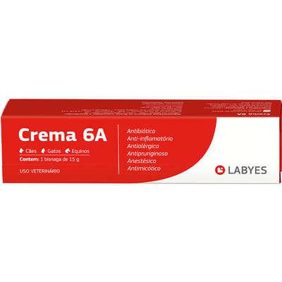 Antibiótico Labyes Crema 6A - 15g