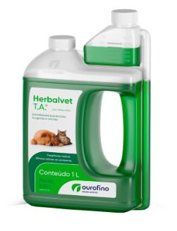 Herbalvet Desinfetante Ourofino T.A 1L