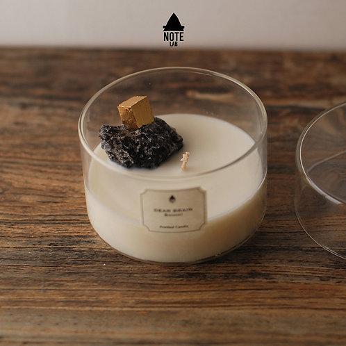 A:NOTE LABORATORY | Pyrite  Scented Candle | 秘魯黃鐵礦香薰蠟燭