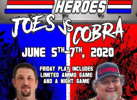 All American Hero's Joe's vs Cobra