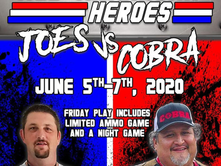 All American Hero's Joe's vs Cobra