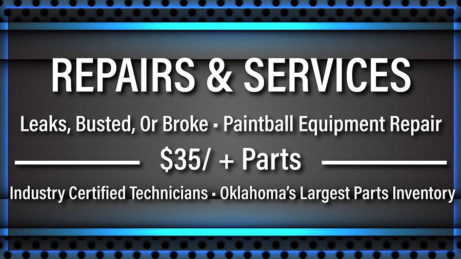 oklahoma paintball repairs