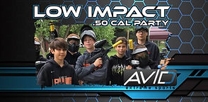 low impact paintball packages