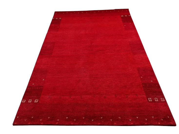 Gabbeh Banyan Rot, Orientteppich, handgeknüpft, verschiedene Größen