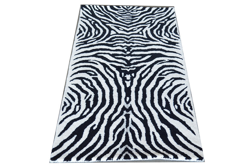 Zebra Design 239, 100% Wolle, African Style