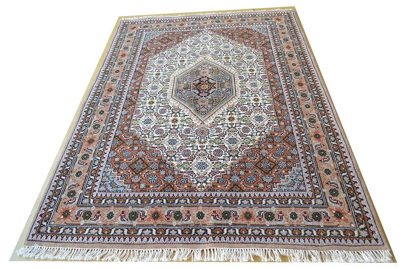 Indo-Bidja, creme, handgeknüpft, Orientteppich, verschiedene Größen, ab