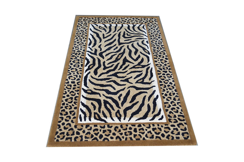 Tierfell Design 194, 100% Wolle, African Style