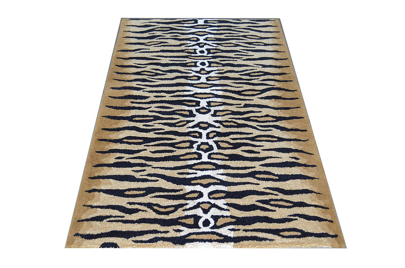 Tiger Design 303, 100% Wolle, African Style