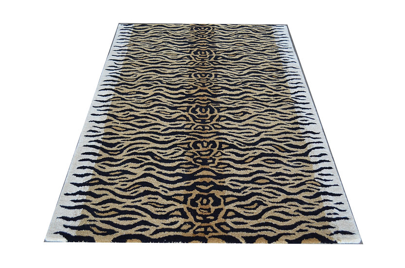Tiger Design 138, 100% Wolle, African Style
