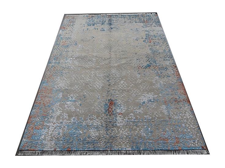 Empire modern, Orientteppich, floral, handgeknüpft, 60% Wolle, 40% Viskose