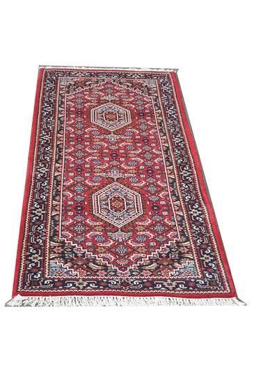 Indo Bidja, rot, Läufer, Orientteppich, verschiedene Längen