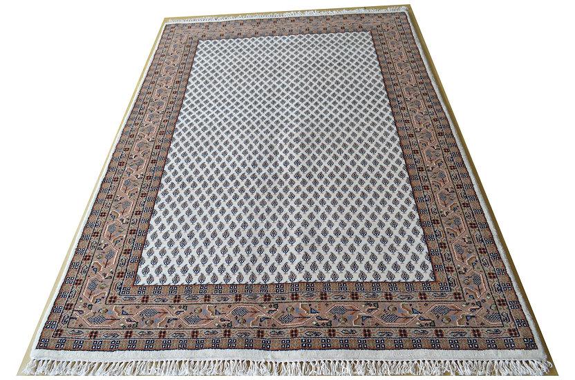 Sarough Mir, beige, handgeknüpft, Orientteppich, verschiedene Größen, ab