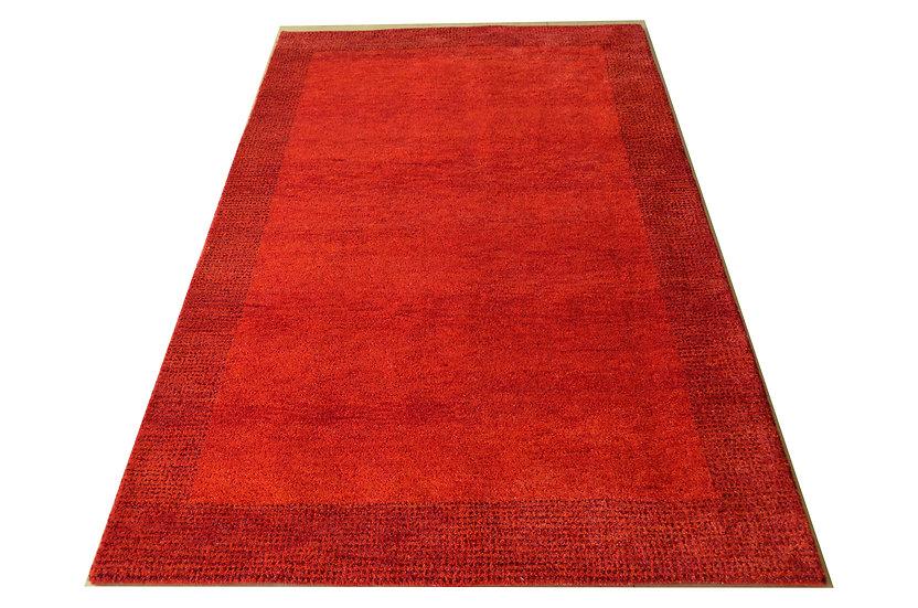 Gabbeh Tulsi rot, Orientteppich, handgeknüpft, verschiedene Größen