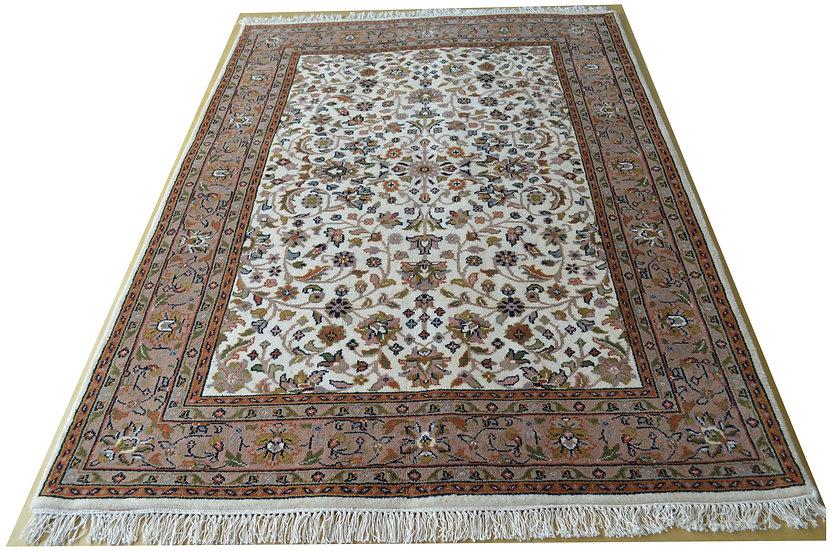 Indo-Täbriz, creme, beige, Orientteppich, verschiedene Größen, ab