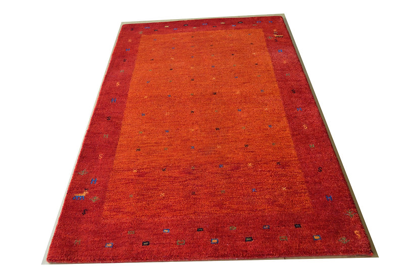Gabbeh Pujas rot, Orientteppich, handgeknüpft, verschiedene Größen