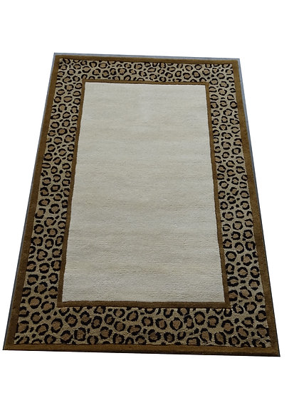 Leopard Design 204, 100% Wolle,  African Style