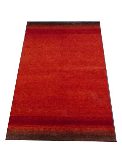 Gabbeh Darbha, Orientteppich, rot, handgeknüpft, versch. Größen, Natu