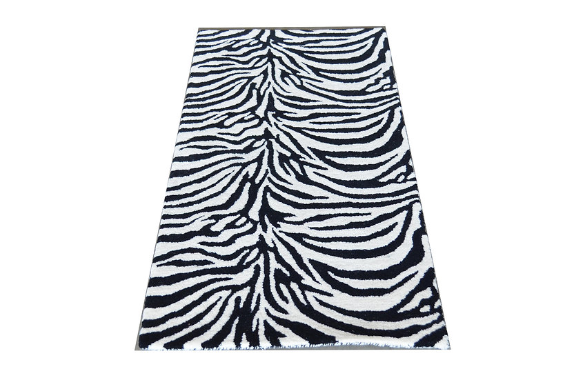 Zebra Design 280A, 100% Wolle,  African Style