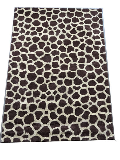 Tiermuster Giraffe, Design 259, 100% Wolle,  African Style